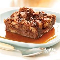 Chocolate Bread Pudding from Eagle Brand� Sweetened Condensed Milk