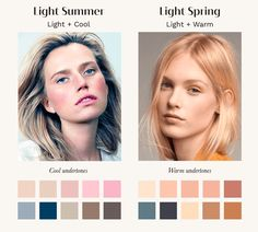 Neutral Skin Tone, Cool Skin Tone, Colors For Skin Tone, Hair Colors, Soft Summer Color Palette, Skin Color Palette, Palette Art, Summer Eyes, Summer Skin