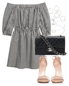 """""""Untitled #4166"""" by theeuropeancloset on Polyvore featuring Stuart Weitzman, Chanel and Accessorize"""
