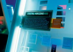 great typography, interesting materials and lighting, Graphic Thought Facility, 2000