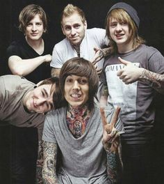Oliver Sykes self harmed as a teen and attempted sucide if it wasn't for his fans he wouldn't be here today :) LOVE YOU OLI <3