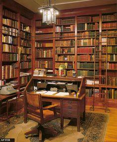 Um lugar para ler e escrever…