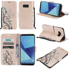 Find More Half-wrapped Case Information about Luxury Embossed Colorful butterfly flower Wallet card pu leather stand Smart cover case for Samsung galaxy S8 PLUS Samsung S8,High Quality case for samsung galaxy,China case for samsung Suppliers, Cheap case plus from E-Credible Technology  Co.,Ltd. on Aliexpress.com