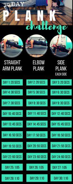 30 DAY PLANK CHALLENGE — Lea Genders Fitness