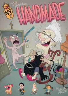 HANDMADE cover by Fil Wisniowski, via Behance