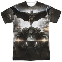 """Checkout our #LicensedGear products FREE SHIPPING + 10% OFF Coupon Code """"Official"""" Batman Arkham Knight/poster-s/s Adult Poly T- Shirt - Batman Arkham Knight/poster-s/s Adult Poly T- Shirt - Price: $24.99. Buy now at https://officiallylicensedgear.com/batman-arkham-knight-poster-s-adult-poly-shirt-licensed"""