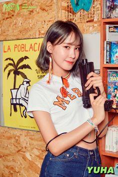 Kang Kyung-won (강경원)/Yuha (유하) – formerly known as Kyungwon - Pristin V Extended Play, South Korean Girls, Korean Girl Groups, Kang Kyung Won, Yuri, Pledis Girlz, Pre Debut, Fandom, Korean People