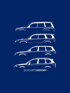 Six Stars SUV SilhouetteHistory Silhouettes of Subaru Forester genareations: SF, SG, SH and SJ Home | FB | Instagram | Twitter | Shop | Ask