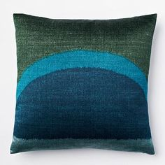 Ikat Dawn Silk Pillow Cover - Dragonfly #westelm Ordered as instructed by Meredith Heron