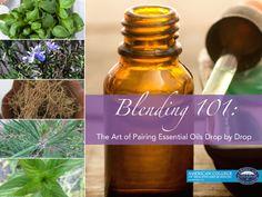 Essential Oil Blending 101: How to pair Essential Oils drop by drop