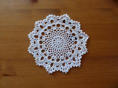 Yellow, Pink and Sparkly: Another Doily