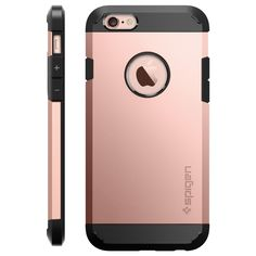 When the going gets tough on your phone, give it the protection it deserves. Our Tough Armor® case for the iPhone offers MIL-STD level security with Air Cushion Technology® for protectio Cute Cases, Cute Phone Cases, Portable Apple, Rose Gold Iphone Case, Accessoires Iphone, Coque Iphone 6, Iphone 6 Cases, Phone Covers, Home Security Systems