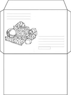 10 Envelopes para Cartinhas de Natal para Baixar e Imprimir - Online Cursos Gratuitos Envelope Carta, 10 Envelope, Printable Tickets, Envelopes, Advent, Miniture Things, Christmas Printables, Mail Art, Holidays And Events