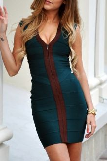 Bodycon Dresses | White And Long Sleeve Bodycon Dresses For Women Fashion Online | ZAFUL