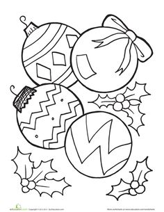 wyoming breezes lets have some fun winter and christmas coloring pictures pinterest wyoming christmas ornament and ornament - Christmas Ornaments Coloring Pages