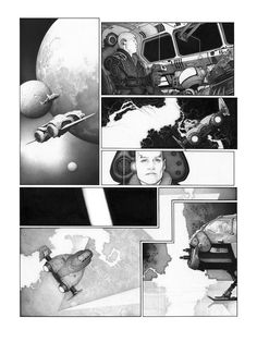 Metabaron by Travis Charest Comic Book Pages, Comic Books Art, Gravure Illustration, Illustration Art, Illustrations, Travis Charest, Black And White Comics, Comic Book Style, Art Story