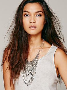 Free People Tylo Statement Necklace at Free People Clothing Boutique