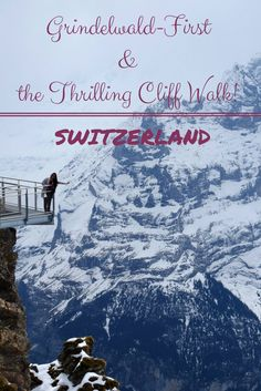 Grindelwald-First is a summit in Bernese Oberland which lures visitors with vistas of the magnificent snowcapped mountains. Grindelwald-First is also popular with hikers for the beautiful mirror reflection in Bachalpsee of surrounding peaks such as the Eiger, Schreckhorn, Wetterhorn.