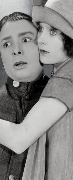 "George K. Arthur & Louise Lorraine in ""Circus Rookies"" (1928)"