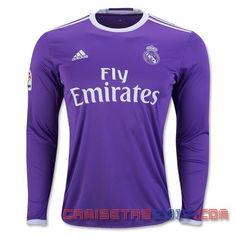 Camiseta manga larga Real Madrid 2016 2017 segunda