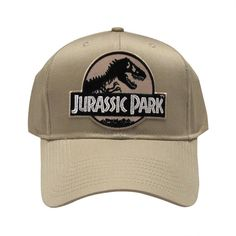 Jurassic Park Movie Logo Desert Sci fi Patch Khaki by TYGP on Etsy