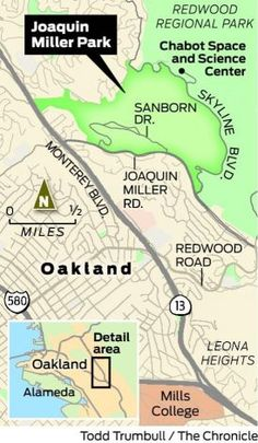 Joaquin Miller Parks trails beautiful and varied - SFGate