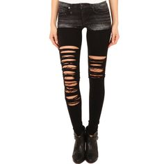 R13 Chaps Knit Legging ($385) ❤ liked on Polyvore featuring pants, leggings, bottoms, jeans, tights, sale, women, black knit pants, black pants and knit leggings