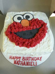 Elmo cake All my cakes Pinterest Elmo cake Elmo and Cake