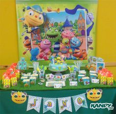 Henry Hugglemonster Birthday Party Ideas | Photo 1 of 7