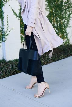 Blush Trench   The Style Scribe