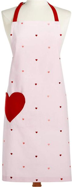 71fee72aa39 Martha Stewart Collection Valentine s Day Apron in Pinks and Reds. Super  cute!  affiliate