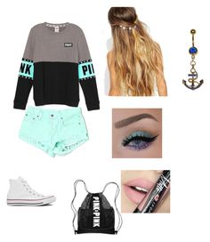 """""""everyday"""" by thomas-patricia on Polyvore featuring beauty, Carmar, Converse, Johnny Loves Rosie and Fiebiger"""