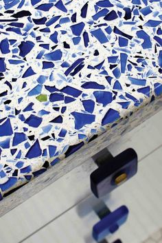 Recycled Glass Worktop 'Scaglioli'