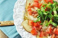 BLT Baked Potato Chip Nachos via @Jennifer Leal