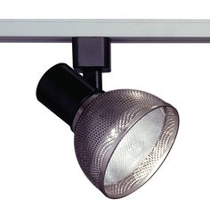 Track Lighting Lamp Shade Comet I Collection shown in Satin Nickel by PLC Lighting - TR205