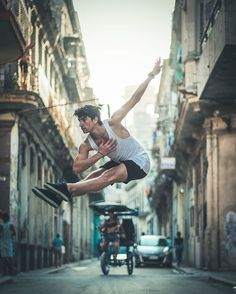 Omar Robles ballet bailarines calles Cuba 16