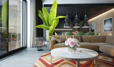 Thinking about balancing your interior design with dark decor elements? Moving away from the familiar white and beige requires a little risk, but the potential