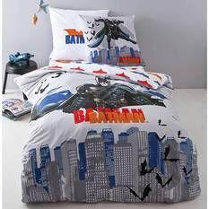 Parure de lit housse de couette + 1 taie d'oreiller BATMAN PUNCH