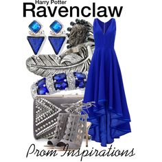 Harry Potter - Prom Inspirations by wearwhatyouwatch on Polyvore featuring Allison Parris, Gianvito Rossi,…