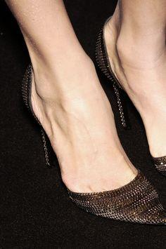 Armani Privé Glittering Heels at Couture Spring 2006 (Details) #Vintage #Shoes #Pumps