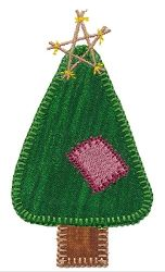 Accuquilt Go! Primitive Trees Set, 9 Designs - 4x4   What's New   Machine Embroidery Designs   SWAKembroidery.com VStitchDesigns