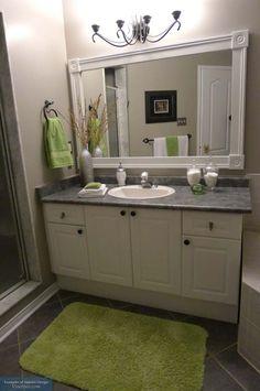49 best bathroom mirror redo images bathroom bathroom ideas rh pinterest com