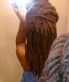 yarn braids updo
