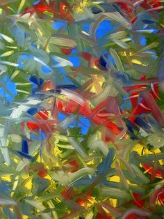 "www.stevenwmiller.com oil on canvas untitled 50x50"""