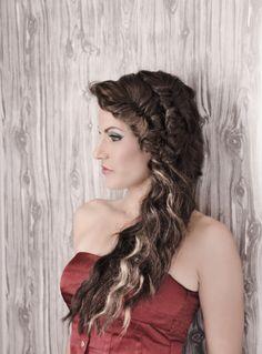 Braids , fishtail braids, long hair . Photo shoot . Game of thrones , #hairbyelena