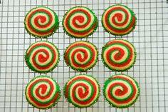 peppermint pinwheel cookies (2013 kitchen frolic cookie recipe advent calendar - day 5)