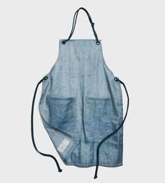 Recycled Beer Filter Cloth Apron, Sea Colors by Rewilder