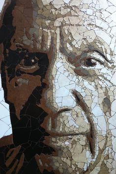 Picasso #mosaic #portrait