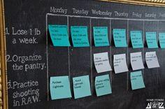 diy goal calendar, cleaning tips, crafts, home decor
