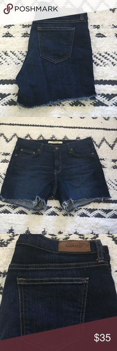 Big Star Denim Cut Off Shorts Super cute cut off jean shorts- this shorts are a little bit longer so they won't give you that cheeky look! Worn once Big Star Shorts Jean Shorts